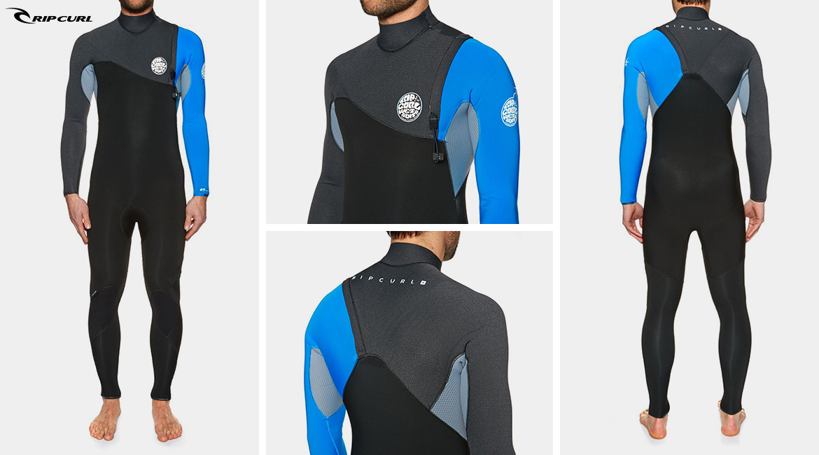 Rip Curl - Flashbomb 3 2mm Zipperless Wetsuit – Blue 16c7efbc3